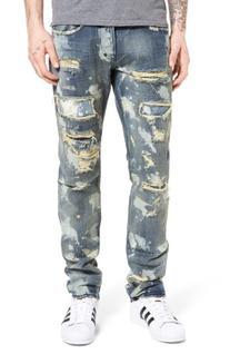 Men's Prps Demon Open Primary Slim Straight Leg Jeans, Size