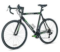GMC Denali Road Bike, 700c, Black/Green, Medium/57cm Frame