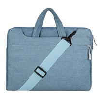 Mosiso Denim Fabric Sleeve Case Cover Bag with Shoulder