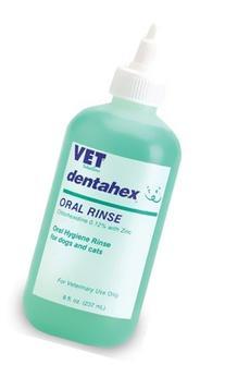 Vetoquinol 411425 Dentahex Oral Hygiene Rinse,8 oz