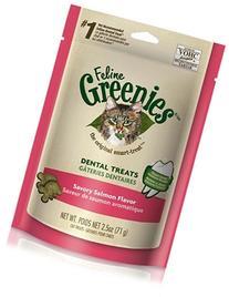 Greenies Dental Treats For Cats Salmon Flavor 3.0 oz