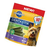 PEDIGREE DENTASTIX Fresh Toy/Small Treats for Dogs - 5.26 oz