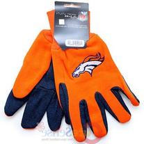 Denver Broncos Two Tone Gloves