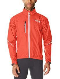 Alpinestars Mens Descender WP Jacket, Red/White, Medium