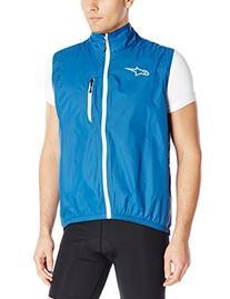 Alpinestars Mens Descender WP Vest, Dark Blue/White, Medium