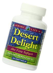 Aerobic Life Desert Delight Aloe Vera Softgels, 1000 Mg, 30
