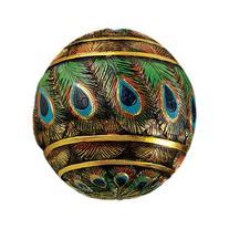 Design Toscano QM25572 Peacock-Feathered Orbs Decorative