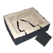Pet Gear Designer Booster Pet Bed, X-Large, Slate