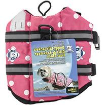Fido Pet Products Paws Aboard Doggy Life Jacket, X-Small,