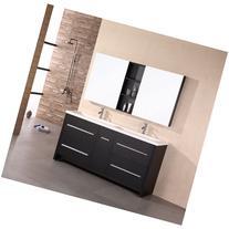 "Design Element Designer's Pick 63"" Double Bathroom"