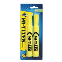 Avery HI-LITER Desk-Style Highlighters, Yellow, Nontoxic,
