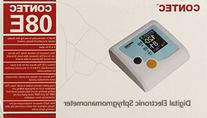 Contec Colour LCD Desktop Electronic Sphygmomanometer, 1.54