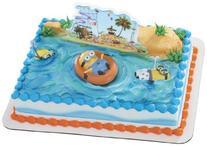Despicable Me 2 Beach Party DecoSet Cake Decoration By DecoPac