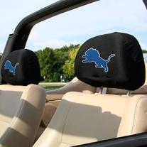 Detroit Lions Headrest Covers