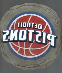 Detroit Pistons Nba Basketball Stepping Stone Wall Plaque