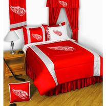NHL Detroit Red Wings - BEDDING SET - Twin/Single Size