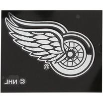 """NHL Red Wings Detroit Window Graphic Sticker, 9"""" x 5"""" x 0.2"""