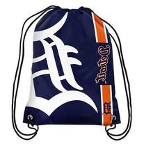 Detroit Tigers Side Stripe Drawstring Backpack
