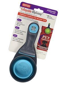 Dexas Popware for Pets Collapsible KlipScoop, 1/2 Capacity,
