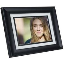 """HP DF780B2 7"""" 2GB Black Wood Digital Picture Frame with 4"""