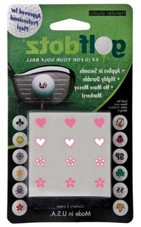ProActive Sports DGD006 Golfdotz Hearts and Flowers