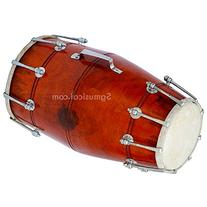 SG Musical Dholak/Dholki, Orange Wood, Bolt Tuned, 5 item's