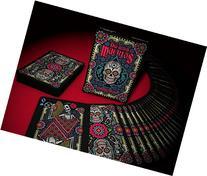 Dia De Los Muertos Playing Cards Deck Black Limited