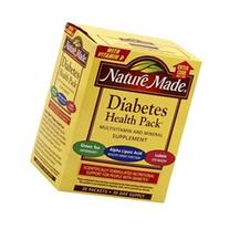 Nature Made Diabetes Health Pack, 30 packets