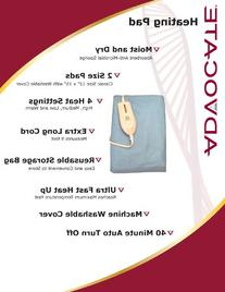 Advocate Diabetic-Friendly Moist & Dry Heating Pad Classic