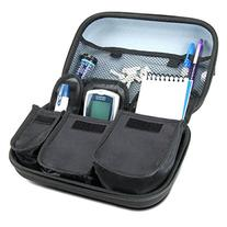 Diabetic Supplies Travel Case Organizer for Blood Glucose