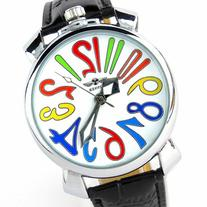 Youyoupifa White dial Black Leather Strap Automatic