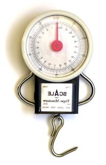 Eagle Claw 50-Pound Dial Scale with Tape Measure