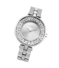 Lipsy Diamante Silver Face Watch