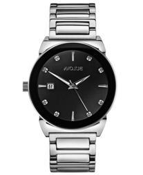 Bulova Men's Diamond Accent Stainless Steel Bracelet Watch