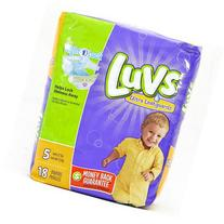 LUVS DIAPER SIZE 5 18 ct
