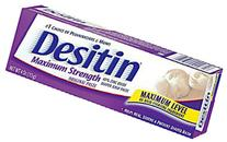 Desitin Diaper Rash Maximum Strength Original Paste 4 oz /