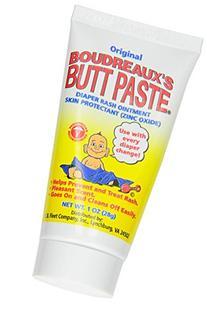 Boudreaux's Butt Paste Diaper Rash Ointment, Original, 1