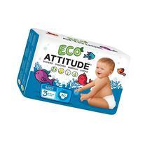 Attitude Eco-Friendly Baby Diapers, Midi, Size 3, 30 ea 1 ea