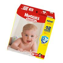 Huggies Snug & Dry Diapers, Economy Plus Pack, Size 2, 246