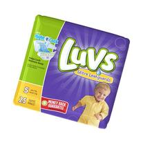 LUVS DIAPERS SIZE 5 - 25 CT