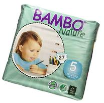 Bambo Nature Maxi Baby Diapers, Size 5 , 54