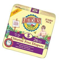Earth's Best Diapers - Size 5 - 104 ct