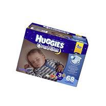 Huggies Overnites Diapers, Big Pack, Size 3, 68 ea