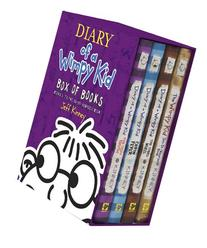 Diary of a Wimpy Kid Box of Books 5-7 + DIY