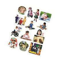 DIFFERING ABILITIES 14 PHOTOGRAPHIC FELT PIECES