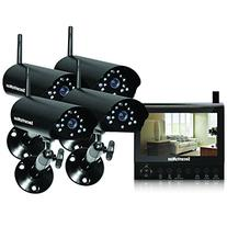 Securityman DigiLCDDVR4 4-Channel Wireless Security System,