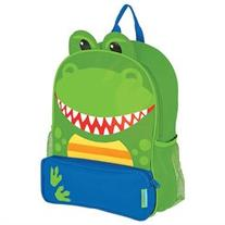 Stephen Joseph Dino Sidekicks Backpack with Mesh Water