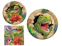 Dinosaur Dino Blast 16 Guest Party Supply Bundle  - Dinner