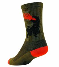 "SockGuy Acrylic Beer Pong 6"" Athletic Crew Socks"