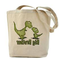 CafePress - Dinosaurs Big Brother Tote Bag - Natural Canvas